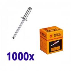 Boîte 1000 rivets Aluminium 4x8 SRC