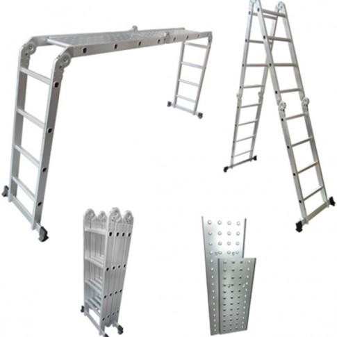 Echelle Multifonctions 4x4 en aluminium avec plateforme