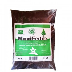 Engrais compost naturel MAXIFERTILE 10L