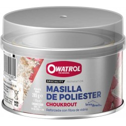 Mastic fibres de verre Polyester Choukrout Owatrol