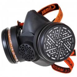 Masque de respiration à cartouche double CLIMAX 756A