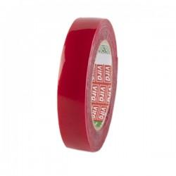Ruban toile isolant Rouge 18mm*9M VIRA