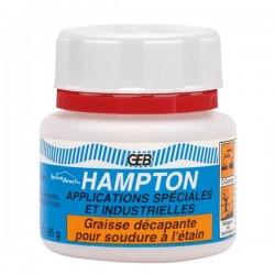 Graisse décapante pour soudure à l'étain 85gr HAMPTON GEB