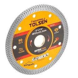Disque diamant ultra fin 125mm TOLSEN