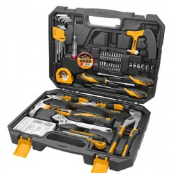 Coffret de bricolage 119 outils TOLSEN