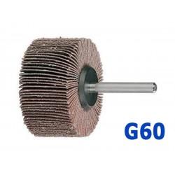 Roue abrasive à lamelles 50x25x6mm G60