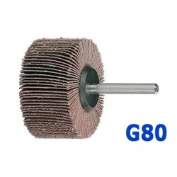 Roue abrasive à lamelles 50x25x6mm G80