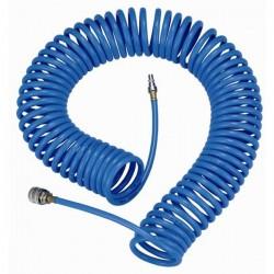 Tuyau flexible en spirale 10m pour circuits pneumatiques