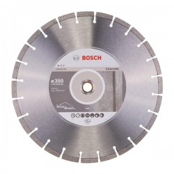 Disque diamant segmenté pour Béton 350mm BOSCH