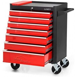 Servante d'atelier vide 7 tiroirs SUMEX