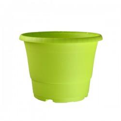 Pot en plastique D17cm Vert