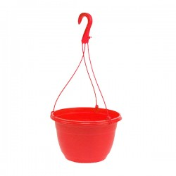 Pot suspendu souple Rouge