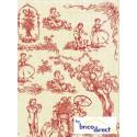 Papier Decopatch (pochette de 3 feuilles)- Réf 501