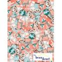 Papier Decopatch (pochette de 3 feuilles)- Réf 692