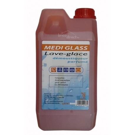 MEDI GLASS Lave-glace démoustiqueur parfumé 2L