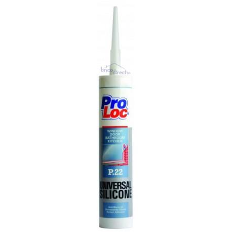 Mastic de Silicone Blanc 280ml PROLOC