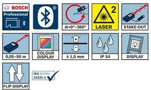 Bosch Laser 50m Tunisie