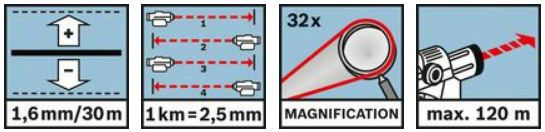 Bosch GOL 32 G Niveau optique
