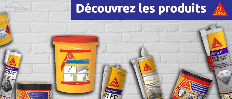 Découvrez les produits SIKA sur le site Brico-direct.tn