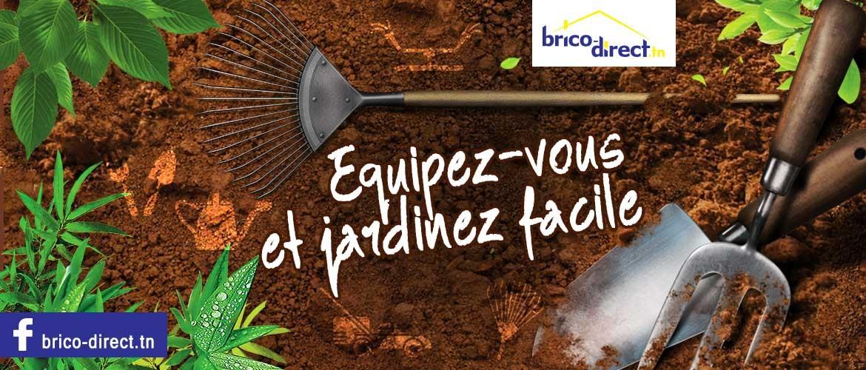 Jardinez facile avec Brico-direct